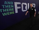 Michigan State head coach Tom Izzo walks in the hall after a practice session for the semifinals of the Final Four NCAA college basketball tournament, Thursday, April 4, 2019, in Minneapolis. (AP Photo/David J. Phillip)