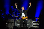 FILE - Paul McCartney performs on day one of the Austin City Limits Music Festival's second weekend on Oct. 12, 2018, in Austin, Texas. McCartney turns 79 on June 18. (Photo by Amy Harris/Invision/AP, File)