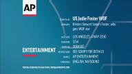 US Jodie Foster WOF