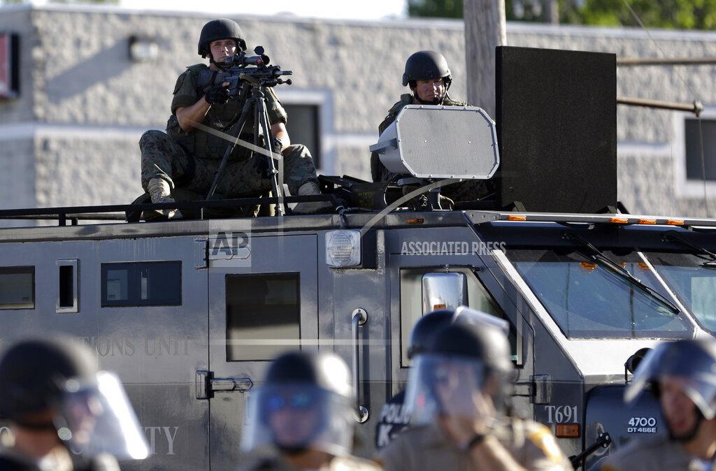 Trump Police Military Gear