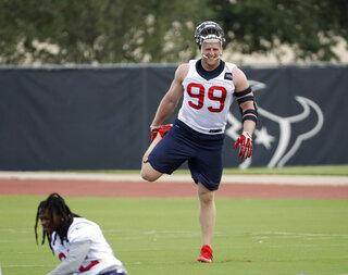 Texans Watts Return Football