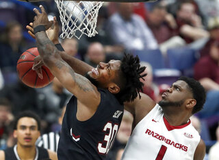APTOPIX SEC S Carolina Arkansas Basketball