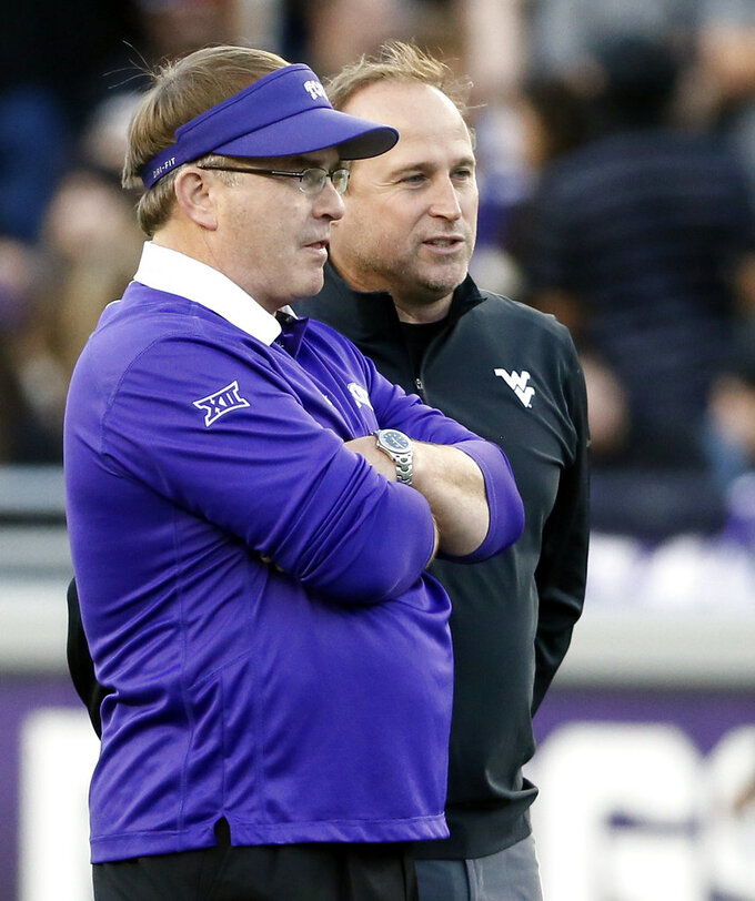 Injuries mounting for TCU, tough test at No. 7 WVU next