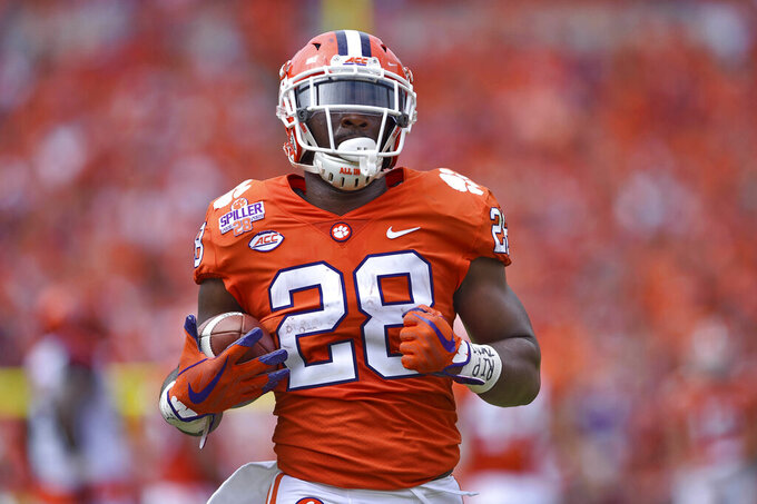 Ex-Clemson tailback now playing for rival South Carolina