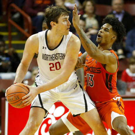Virginia Tech Northeastern Basketball