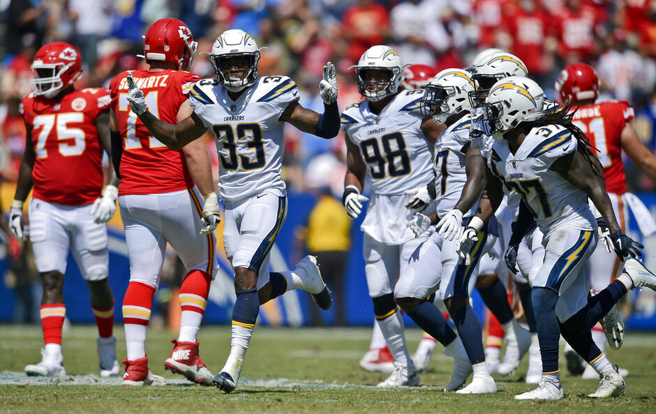 Chargers James Fast Start Football