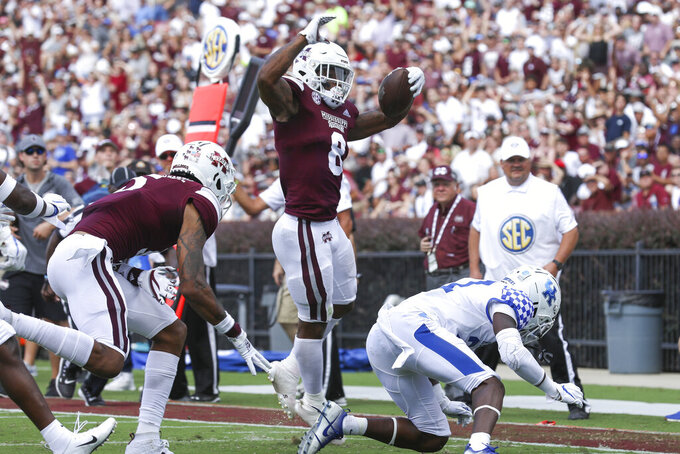 Mississippi State's Hill thriving amid increased workload