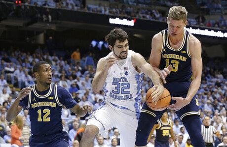 Michigan North Carolina Basketball
