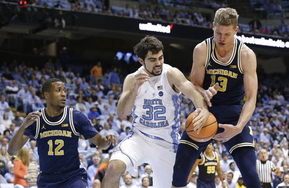 Michigan North Carolina Basketball