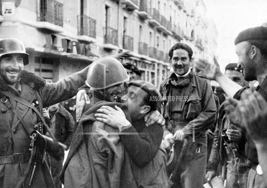 Associated Press International News Spain SPANISH CIVIL WAR 1939