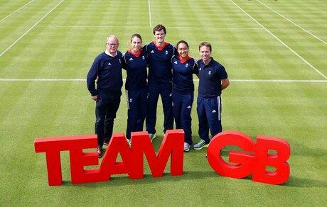 Britain Tennis British Team