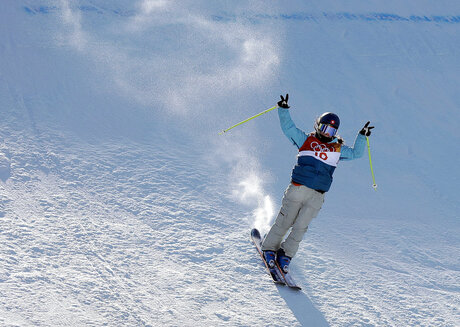 Pyeongchang Olympics Freestyle Skiing Women