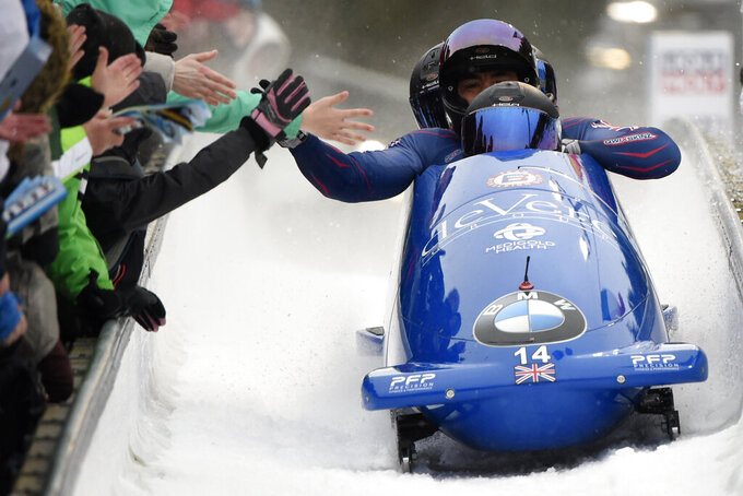 Bobsled worlds moved to Germany over coronavirus worries
