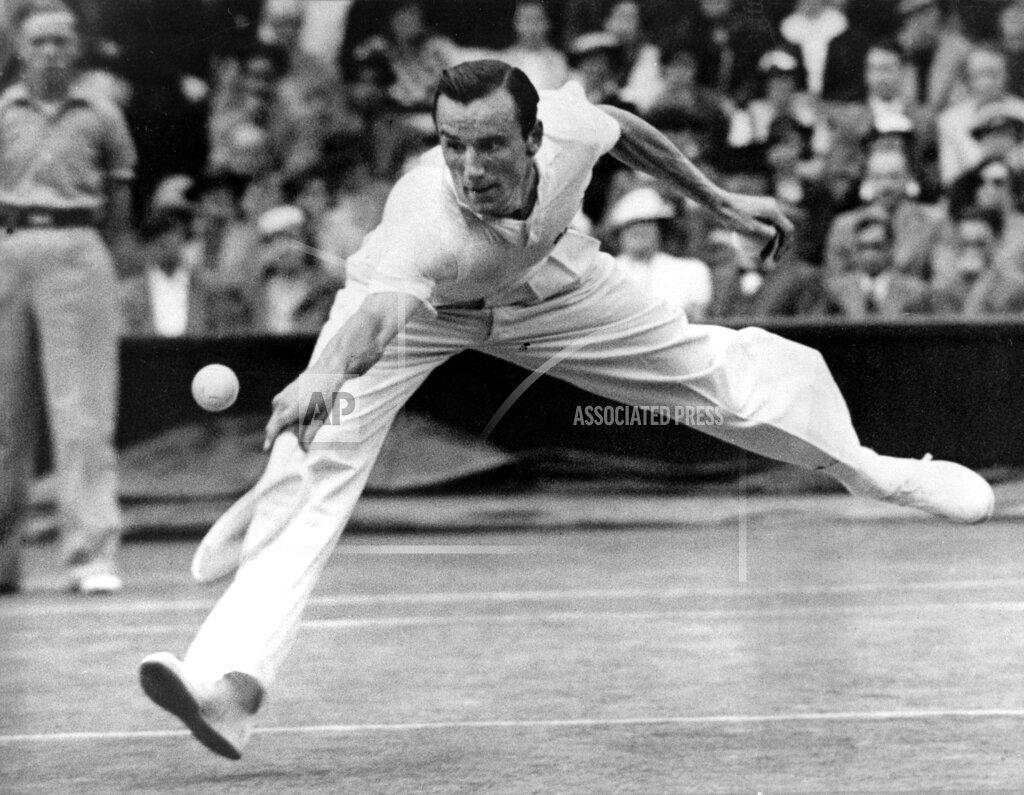 Associated Press Sports United Kingdom England Tennis WIMBLEDON PERRY GOTTFREID
