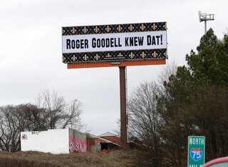 Super Bowl Call Atlanta Billboards