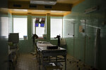 In this Nov. 15, 2018, photo, a delivery room sits empty in the Trebisov hospital in Trebisov, Slovakia. An investigation by The Associated Press has found that women and their newborns in Slovakia are routinely, unjustifiably and illegally detained in hospitals across the European Union country. (AP Photo/Felipe Dana)