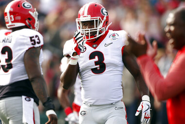 Georgia Smith Draft Football