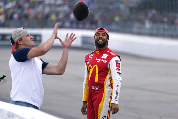 Jordan's first year in NASCAR a missed layup with Wallace