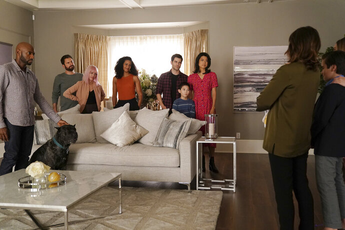 This image released by ABC shows a scene from the series
