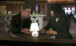 """This image released by Focus Features shows Oscar Isaac, left, and Tiffany Haddish in a scene from """"The Card Counter."""" (Focus Features via AP)"""