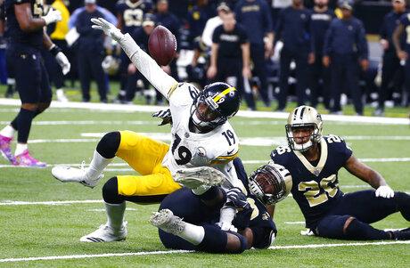 APTOPIX Steelers Saints Football