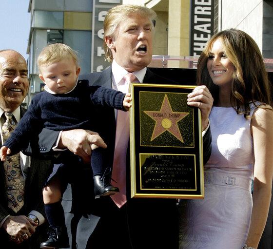 Donald Trump, Melania Knauss, Barron Trump