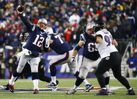 Ravens Patriots Football