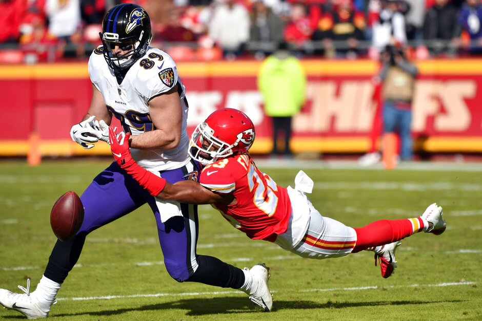 Ravens Chiefs Football