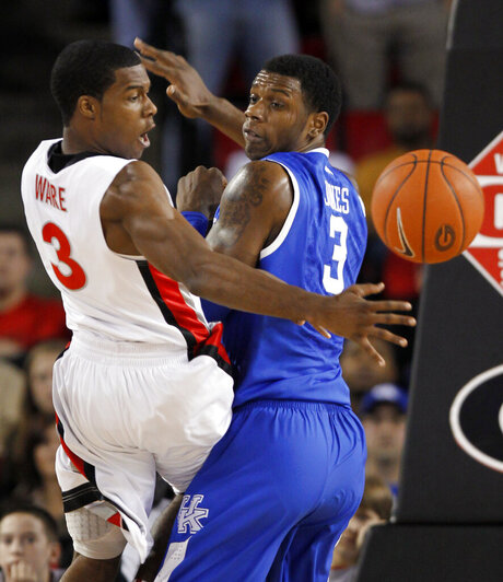 Dustin Ware, Terrence Jones