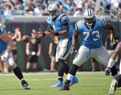 Tyronne Green, Michael Oher, Cam Newton