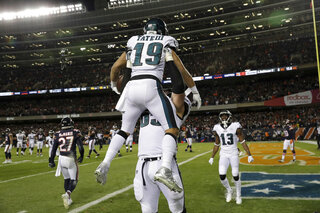 APTOPIX Eagles Bears Football