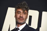 Director/writer/producer Taika Waititi arrives at the Los Angeles premiere of