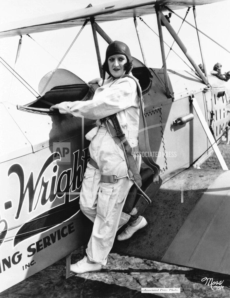 Watchf AP A  CA USA APHS338294 Gladys Normand  Pilot Posing