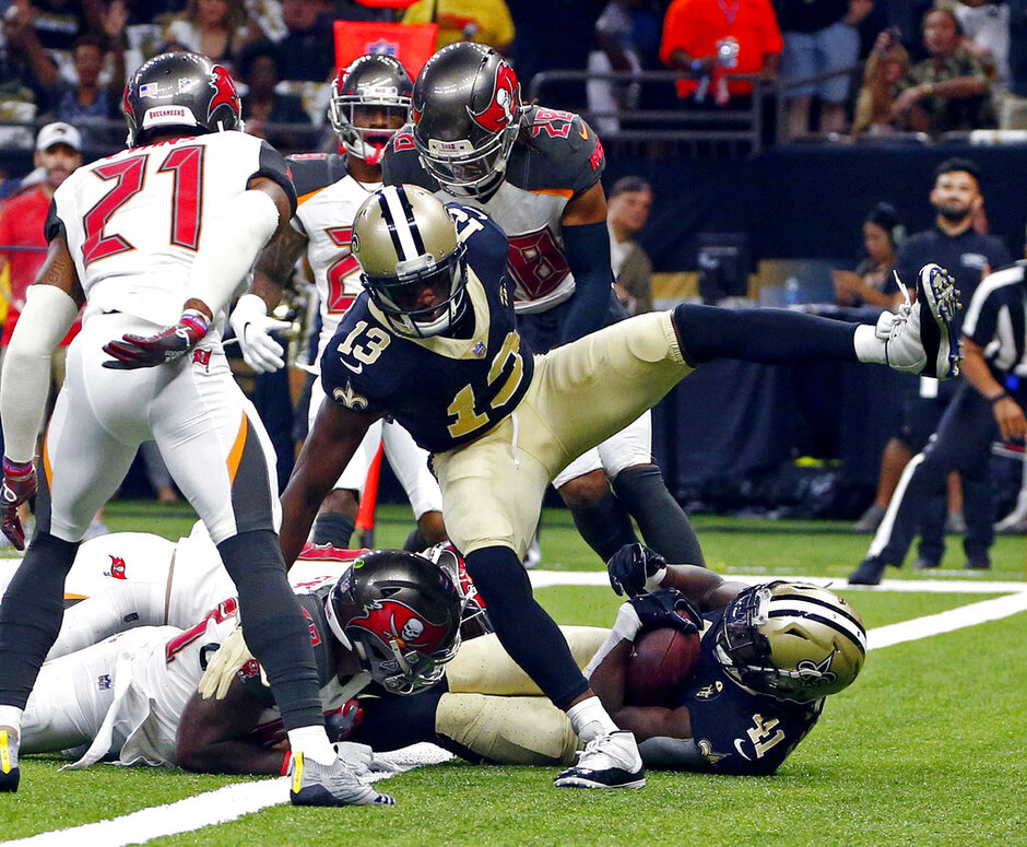 Buccaneers Saints Football