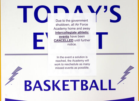 Government Shutdown Sports