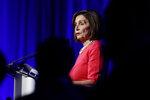 House Speaker Nancy Pelosi of Calif., speaks during a Pennsylvania Democratic Party fundraiser in Philadelphia, Friday, Nov. 1, 2019. (AP Photo/Matt Rourke)