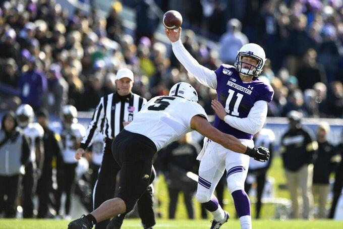 Purdue beats Northwestern 24-22 on Dellinger's late FG