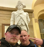 This Jan. 6, 2021 photo made available by the United States Capitol Police in a complaint and arrest warrant shows Rocky Mount Police Department Sgt. Thomas