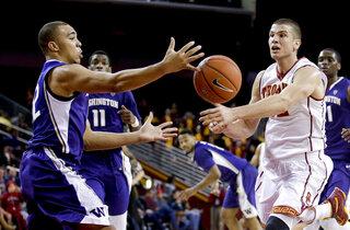 Washington Southern Cal Basketball