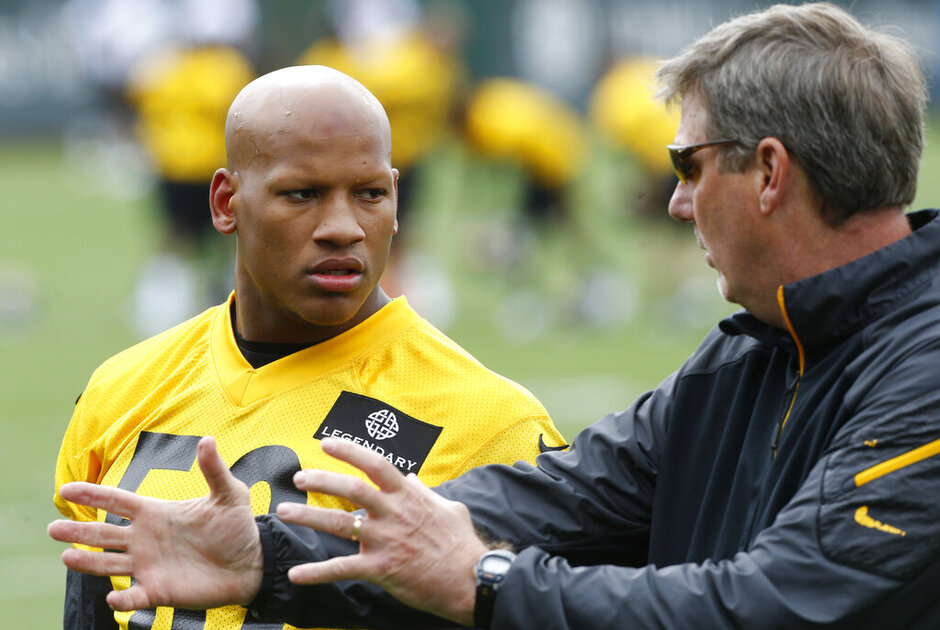 Ryan Shazier, Keith Butler