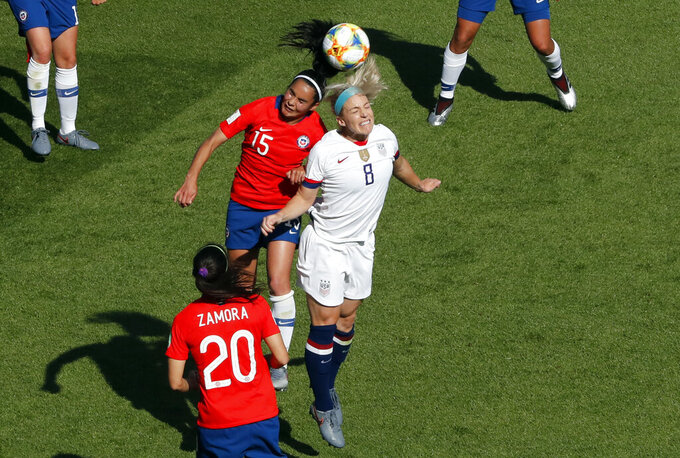 Chile vs USA 6/16/2019