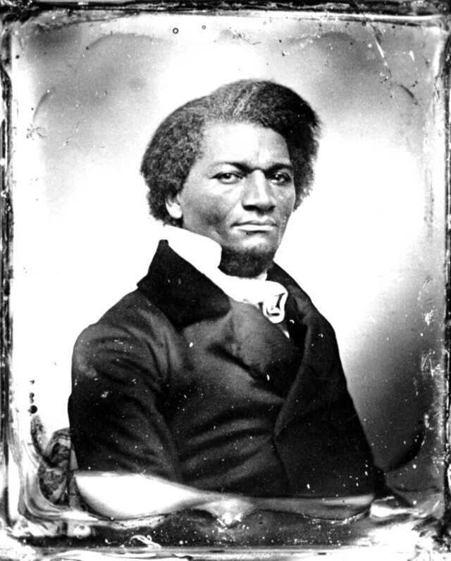 FILE —This is an undated photo shows abolitionist Frederick Douglass. The Monroe County, NY, Legislature Tuesday night, Aug. 11, 2020, approved the name