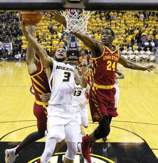 Iowa St Missouri Basketball