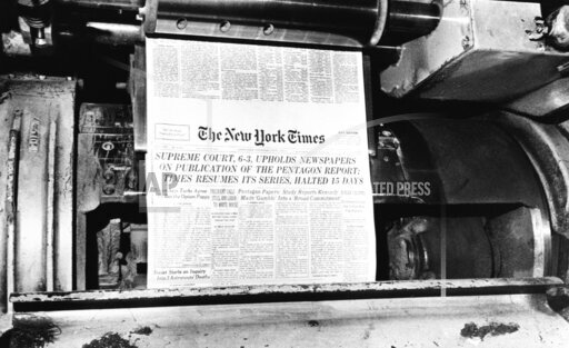 Pentagon Papers In The Times