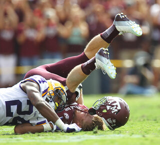 APTOPIX LSU Texas A M Football