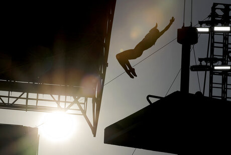Rio Olympics Outdoor Diving
