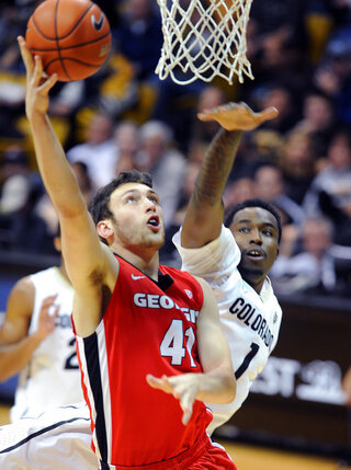 Georgia Colorado Basketball