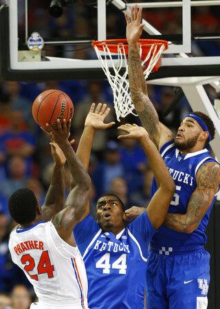 SEC Kentucky Georgia Basketball