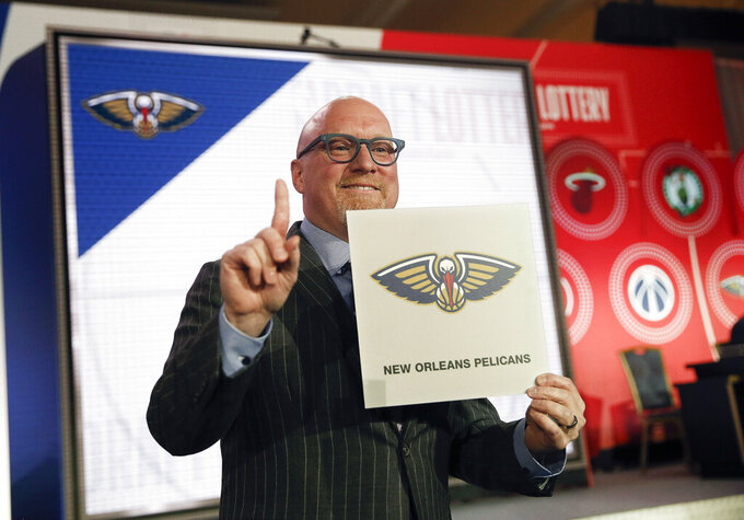 Pelicans going at own pace after hitting NBA lottery jackpot