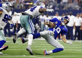 APTOPIX Giants Cowboys Football
